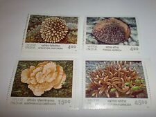INDIA STAMPS- YEAR 2001-3  SETS:CORALS-A1281,PANCHTANTRA-A1295 &TEMPLES-A1307