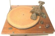 vIntage * RCA RADIOLA 73:  Working ELECTRIC TURNTABLE & ART DECO MAG TONE ARM