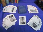DENVER & REO GRANDE WESTERN railroad 53 views playing cards RR ORIGINAL VINTAGE