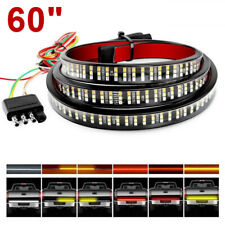 "60"" 6 Modes 432LED Truck Strip Tailgate Light Bar 3Row Reverse Brake Tail Signal"