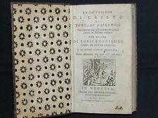 Libro 1799 La Imitazione di Cristo Opera Cardinale Enriquez di Tommaso da Kempis