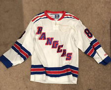 New York Rangers Lindros Jersey Hockey NHL CCM Oficial Licensed M White #88
