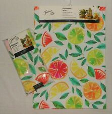 8 Pc Fiesta Citrus Bliss Indoor Outdoor Napkins & Placemats NWT FREE SHIPPING