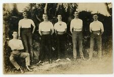 ROYAL ARMY PHYSICAL TRAINING CORPS - BY CROCKETT, TAUNTON - REAL PHOTO - C.1914