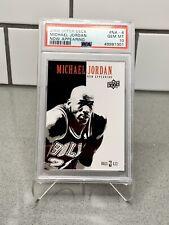 2009-10 Upper Deck Michael Jordan Now Appearing (Scarface) NA-6 PSA 10 GEM MNT