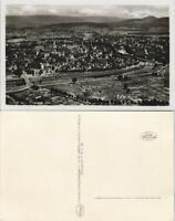 Ansichtskarte Rastatt Luftaufnahme Totalansicht vom Flugzeug aus 1935