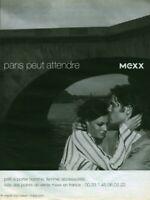 Publicité contemporaine mode Mexx  2003 issue de magazine