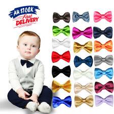 Black Boy Bow Formal Necktie Party Pretied Kids Baby Bowtie Wedding Tuxedo Tie