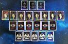 22x PANINI UEFA Champions League 2010/2011 Sticker - Logo - Trophy - Lot #1-4