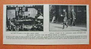 WL8y) England Aldershot 1906 Guards RAGGING Case Verhör Cuthbert Kennedy 25x12cm