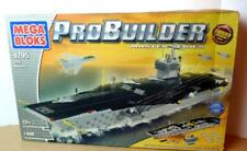 Mega Bloks USS Nimitz  Pro Builder Master Series Air Carrier Set 2004