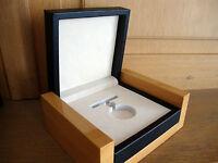 Holz Box Etui Taschen-Uhren Schatulle Verpackung Massiv Wodden Pocket Watch Box
