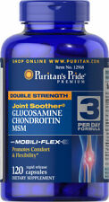 GLUCOSAMINE CHONDROITIN MSM GIANT 120 JOINT SOOTHER HEALTHY JOINTS ARTHRITIS