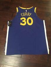 d78a149f98f0 Nike Men s NBA Steph Curry Golden State Warriors Basketball Jersey Sz. 58  NEW
