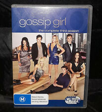 Gossip Girl : Third (3) Season (DVD, 2010, 5-Disc Set) Region 4