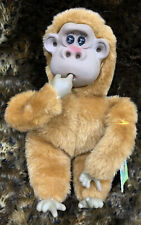 "Vintage Russ Berrie ""Rutherford III"" He Sucks his Thumb,Plush Monkey Gorilla Toy"