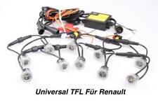 TOP LED Tagfahrlicht 6000K 12V DRL TFL Flex 10x SMD je 1 Watt Für Renault