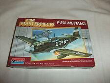 Flugzeug Modell Bausatz 1:72 MONOGRAM North American P51B Mustang 2. Wk USA