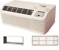 Amana PTH093G35AXXX 9000 BTU PTAC Air Conditioner Heat Pump with Sleeve & Grill