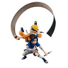 Naruto SHIPPUDEN - Remix Series NARUTO & Sasuke 1/8 Pvc Figura Megahouse