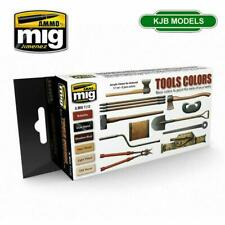 More details for ammo by mig mig7112 tool colours acrylic paint set
