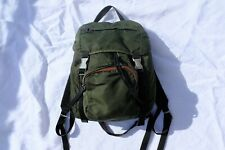 VINTAGE PRADA Sport Nylon Tessuto Backpack Military Green Women's AUTHENTIC