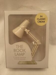 IF The Book Lamp Classic Cream - clip on reading book light BRAND NEW