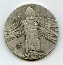 Soviet Astronauts AWARD Medal Energy Rocket Buran Space 1987 RARE!
