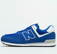 New Balance 574 GS ® ( Size UK: 5 EUR 38 ) Blue / White Suede Upper Latest NEW