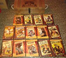 WESTERN COFFRET EN BOIS DE 14 DVD LES 14 DVD SONT NEUFS ET SCELLES