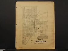 Missouri Vernon County Map  Nevada  1928 2-Single Pages  !R5#09