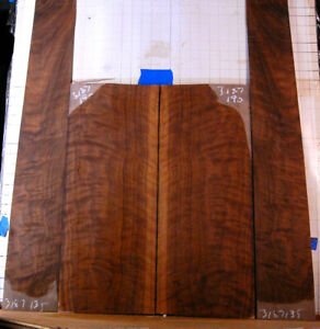 quilted curly black walnut tonewood guitar luthier set back and sides