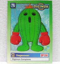 DIGIMON TRADING CARDS - TOGEMON 26/34 - CARTE UFFICIALI SERIE TV-1a SERIE