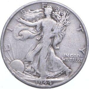 1944-D Walking Liberty 90% Silver US Half Dollar *531