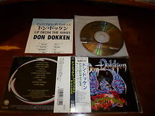Don Dokken / Up From the Ashes JAPAN John Norum WPCP-3644 1ST PRESS!!! *A
