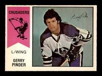 1974-75 O-Pee-Chee WHA #9 Gerry Pinder EXMT/EXMT+ X1024660
