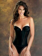 NWT Flattering Me Seamless Strapless Underwire Longline Bra Style 777BS