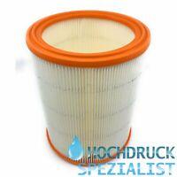Lamellenfilter für Nilfisk Alto 30063, EC 380-SW/B1, EC 480, Rundfilter, Filter