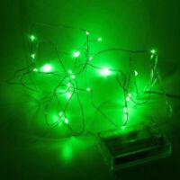 LUCES DE NAVIDAD LED, 50 LED COLOR VERDE, LUCES LED COLOR VERDE 5 METROS