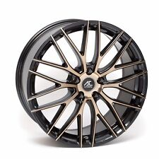 """ALLOY WHEELS X 4 18"""" BB AC SYCLONE FIT FORD FOCUS MONDEO C S MAX EDGE KUGA 5X108"""