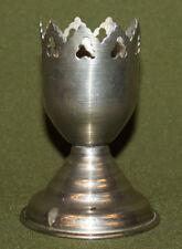 Vintage silver plated floral engraved milk jug creamer