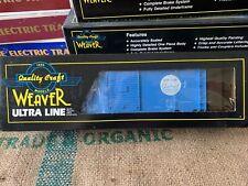 New ListingO Scale 3-Rail Weaver Ultra Line Nyc New York Central 40' Ps-1 Box Car #92102