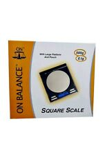 On Balance 500g 0.1g Digital LCD Professional Pocket Mini Scale CD Platform