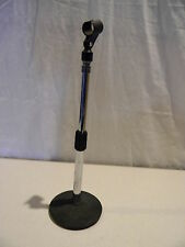 Adjustable Desktop Microphone Chrome Stand Weighted Base Adapter Mic Clip 12-17""