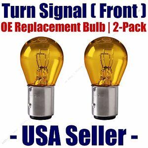 Front Turn Signal/Blinker Light Bulb 2pk- Fits Listed Kia Vehicles - 2357A
