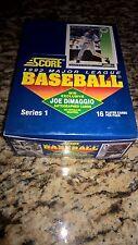 1992 SCORE Baseball Factory Boxes Series 1 Ob44