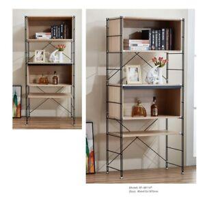 computer table + shelfs and 2 drawers Scandnavian Nordic Retro style Light Oak