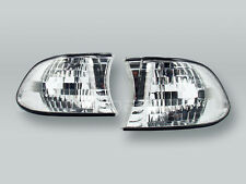 DEPO Clear Corner Lights Parking Lamps PAIR fits 1999-2001 BMW 7-Series E38
