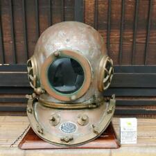 Diver Helmet Marine Antique Japan Display Diver Orthosis Rare