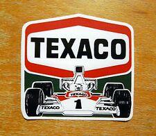 James Hunt Texaco McLaren 1976 Formula 1 Race Motorsport Sticker / Decal